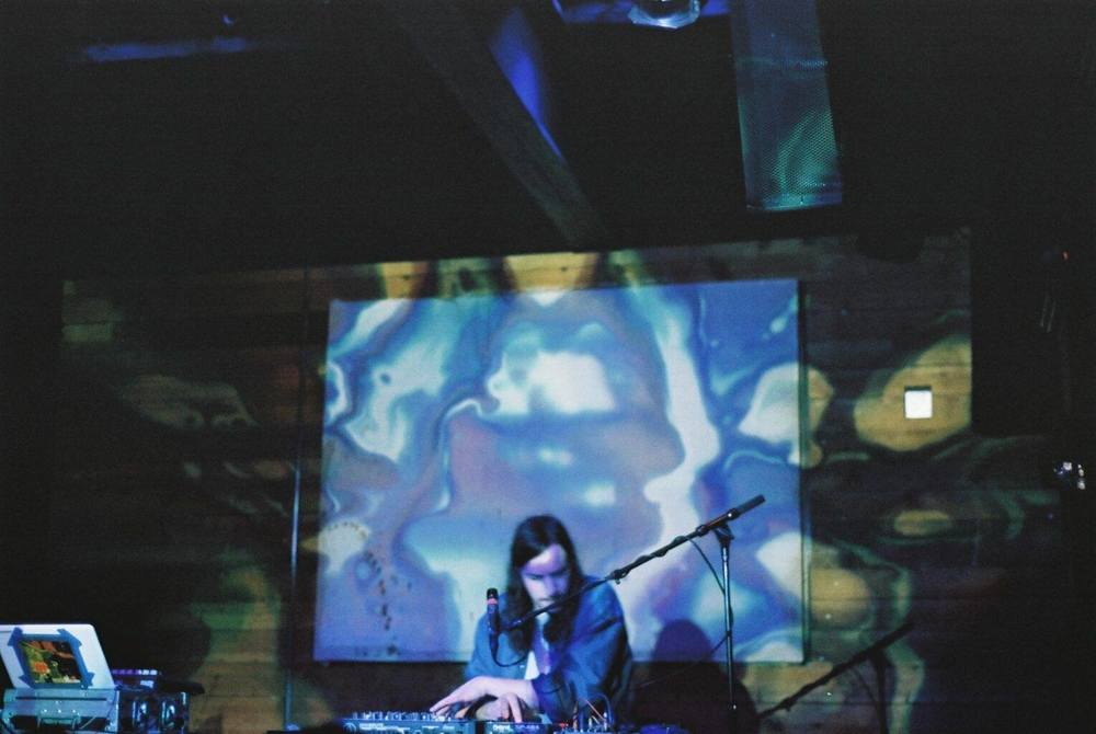 Photo: Elyse Mathes | Botany performing at Mohawk following Caribou's set Sunday evening