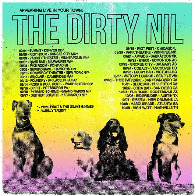 EXTREMELY EXCITED TO ANNOUNCE that we are bringing THE DIRTY NIL to VICTORIA! - @thedirtynil @luckybaryyj @dinealonerecords #yyjevents #yyjmusic #holysmokesmusic #thedirtynil #dinealonerecords #punk #rock #party #beer #higherpower #luckybar #tour #yyj #indie