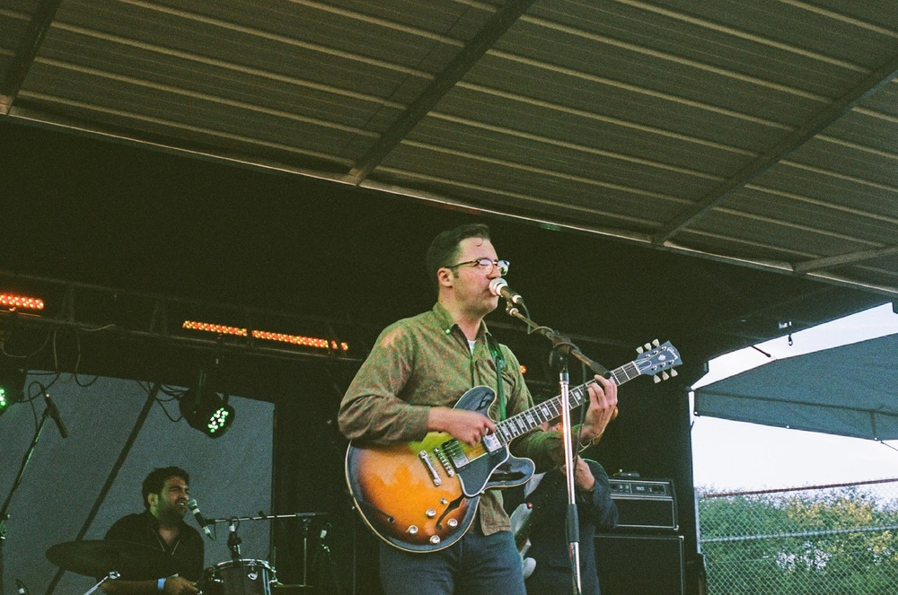 NICK WATERHOUSE TEARING UP THE STAGE AT OTALITH LAST YEAR