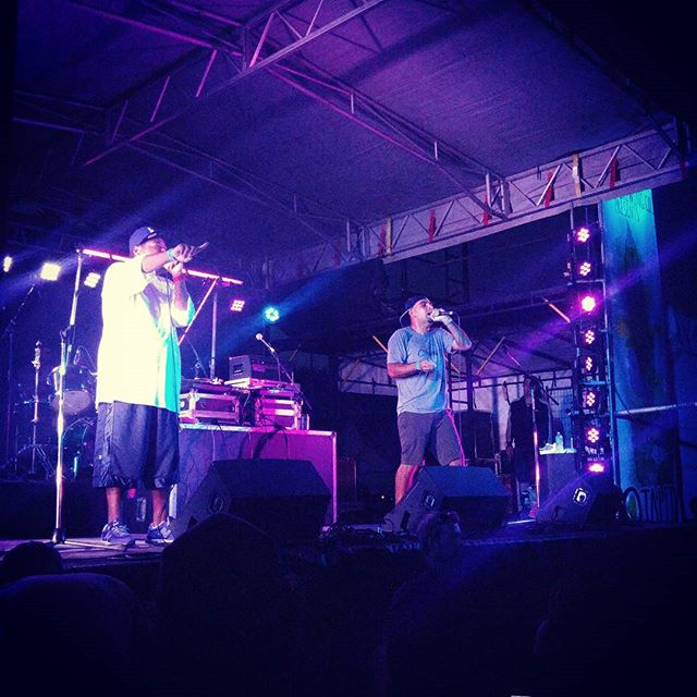 People Under The Stairs   Otalith Music Festival  #otalith #music #festival #party #live #peopleunderthestairs #ukee #ucluelet #hip #hop #losangeles