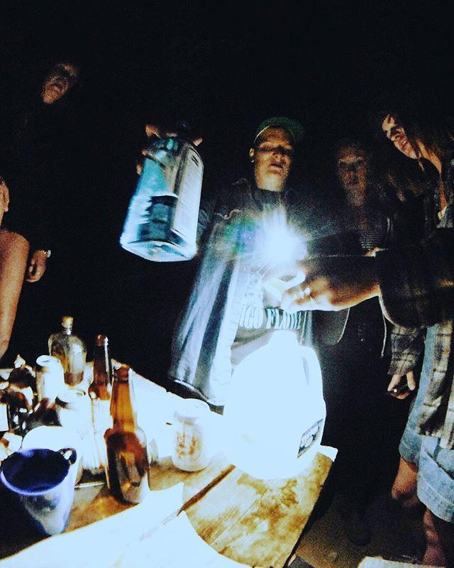 H O L Y G I N J U G   @otalithfestival  #holysmokesblog #otalith #otalithfestival #gin #jug #party #bombay #lemons #water #mhmm