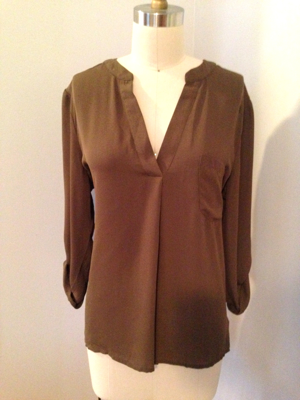 Olive Blouse ($30)