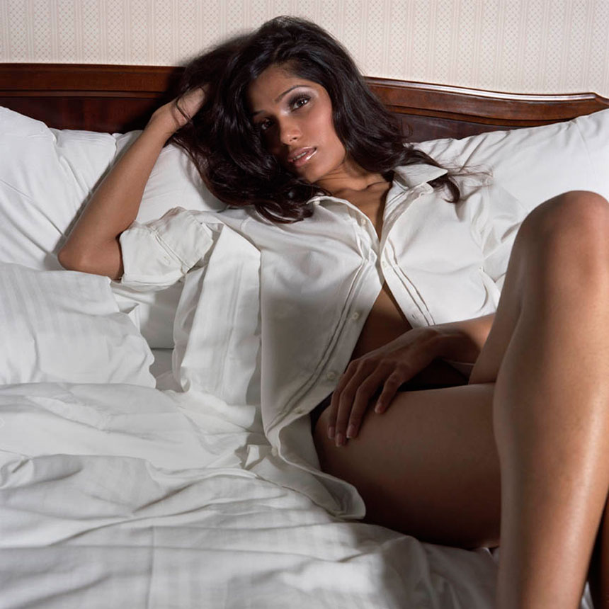 COMPLEX MAGAZINE  FEATURE EDITORIAL:  ACTRESS FREIDA PINTO