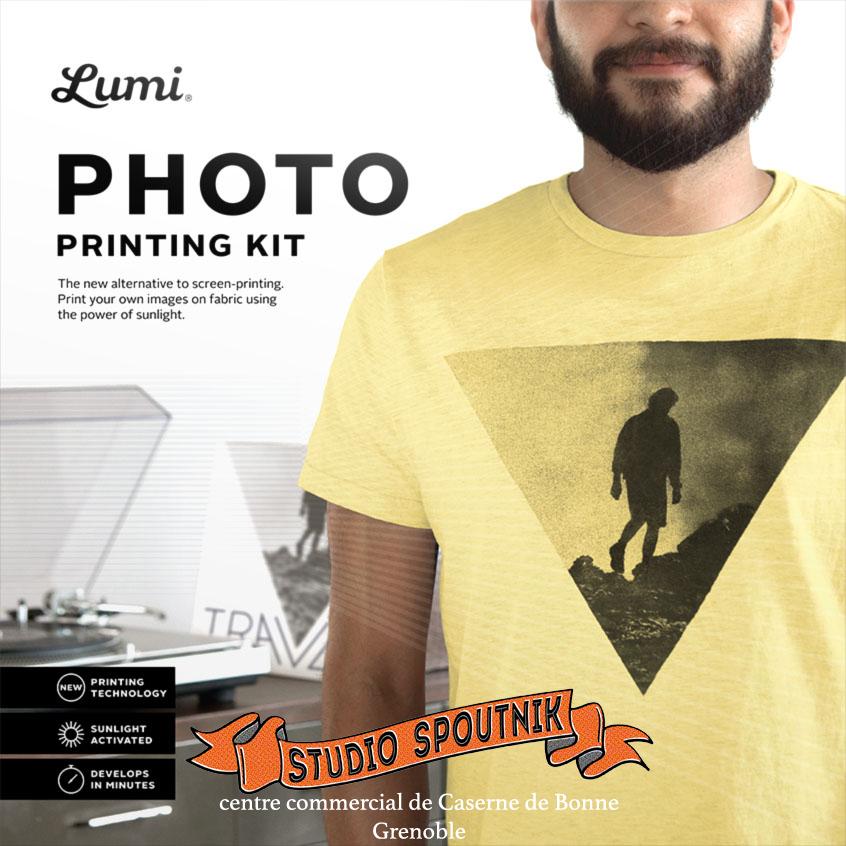 Photo Kit d'impression Photo sur Textile T-Shirt, Polo etc