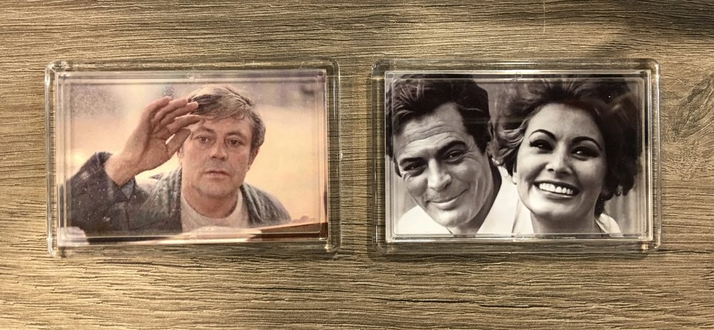 Magnets avec une photo à personnaliser