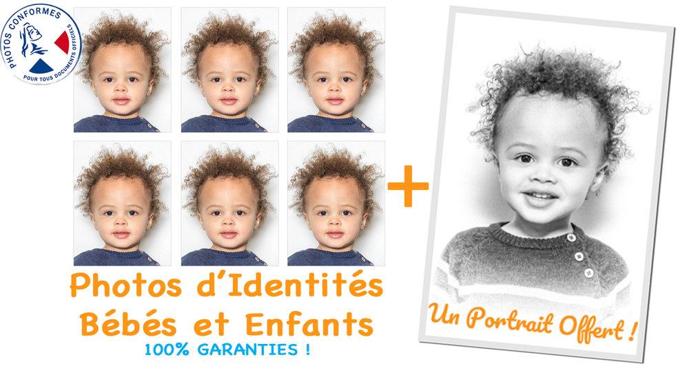 exemple des photos pour passeport enfant