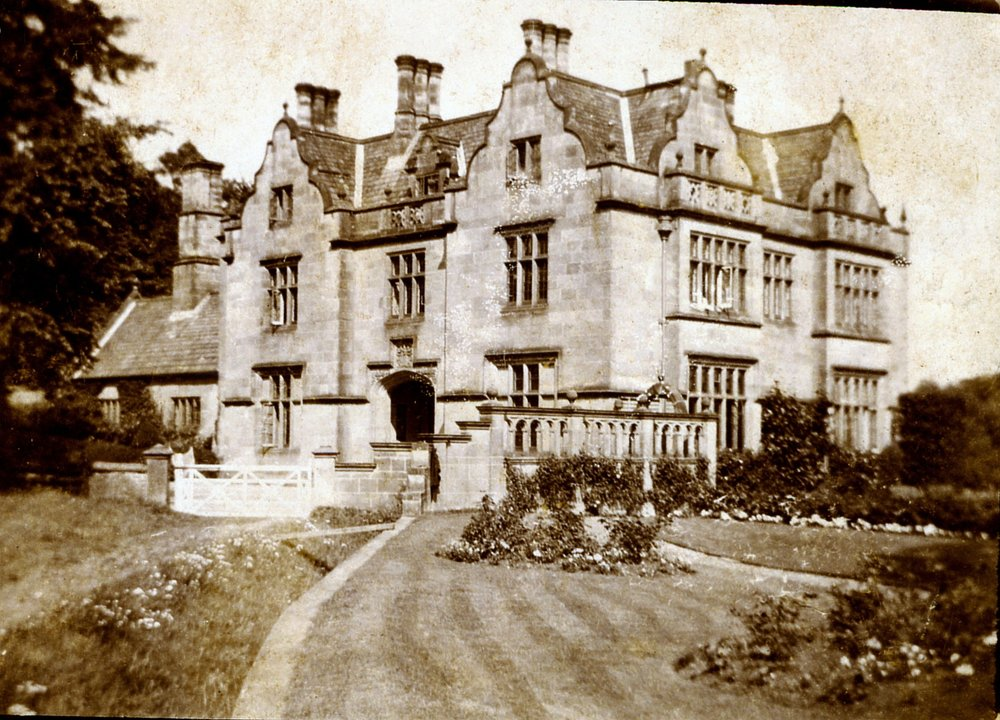 Due to our involvement with the Sockburn Hall restoration project, we were sent this fascinating photo from a gentleman in Australia. He was delighted to hear about the restoration of the hall as his great-grandfather was the gamekeeper for the Sockburn Estate in the early 1900's!