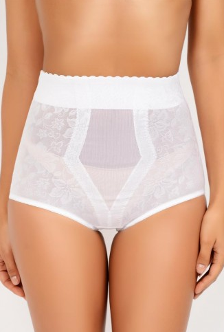 Lace Jacquard Control Brief (White - 281) 1.png