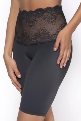 Lace Band Tummy Control Long Leg (Black - 230).png