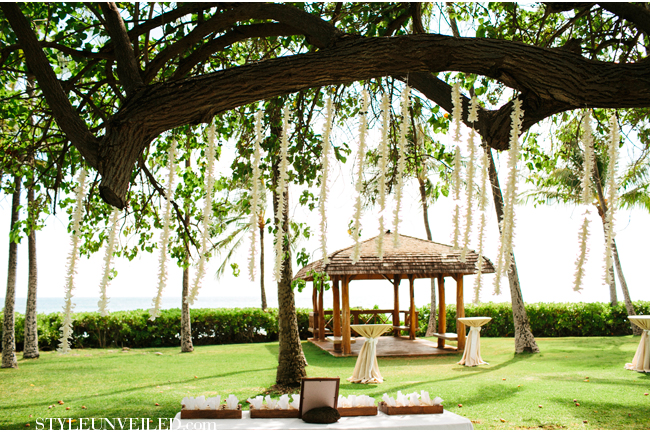 Clayton Stanleys Wedding At Lanikuhonua Michelle Garibay Events