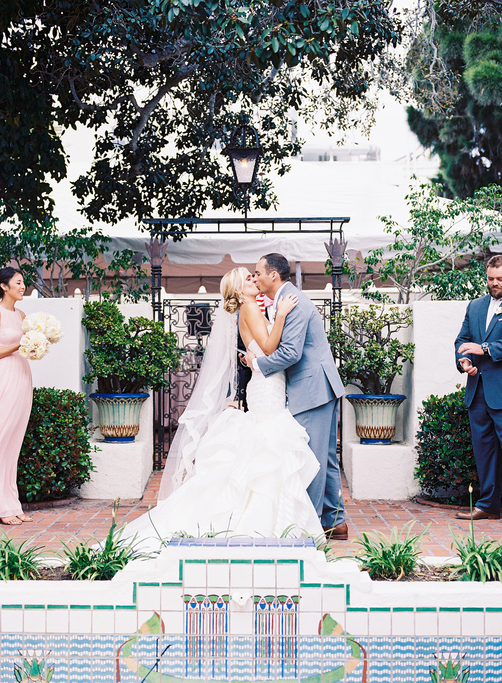 La Jolla Wedding at Darlington House | Sparkly and Classic Wedding Details | Michelle Garibay Events