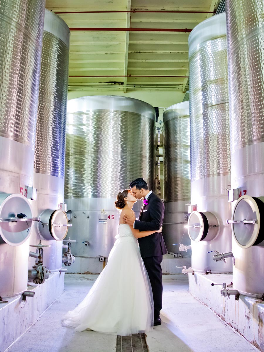 Callaway Vineyard and Winery Wedding | Temecula Winery Wedding | Michelle Garibay Events