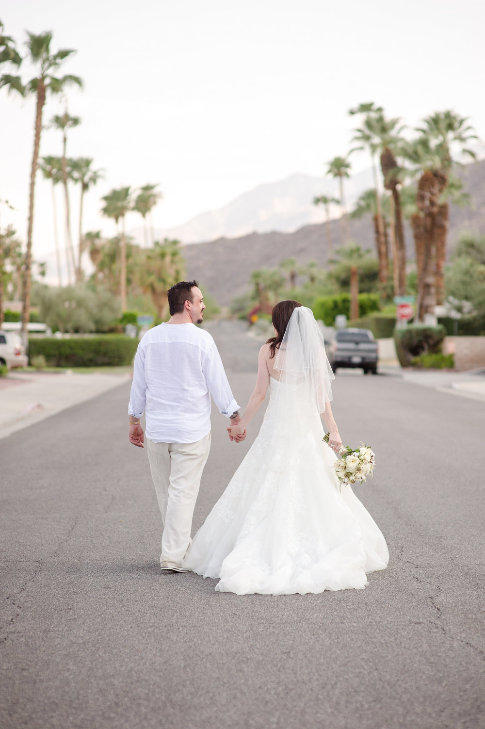 Palm Springs Bride and Groom | Michelle Garibay Events