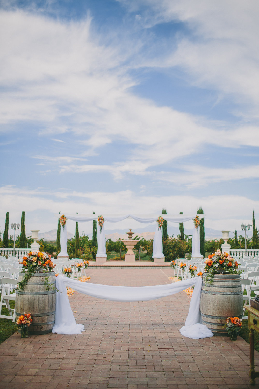 Mount Palomar Winery Ceremony | Michelle Garibay Events