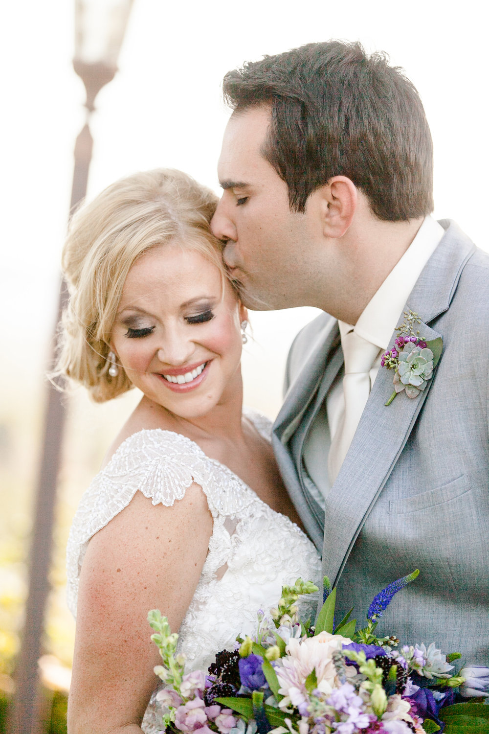 Purple and Gray Romantic Wedding | Michelle Garibay Events | Leah Marie Photography