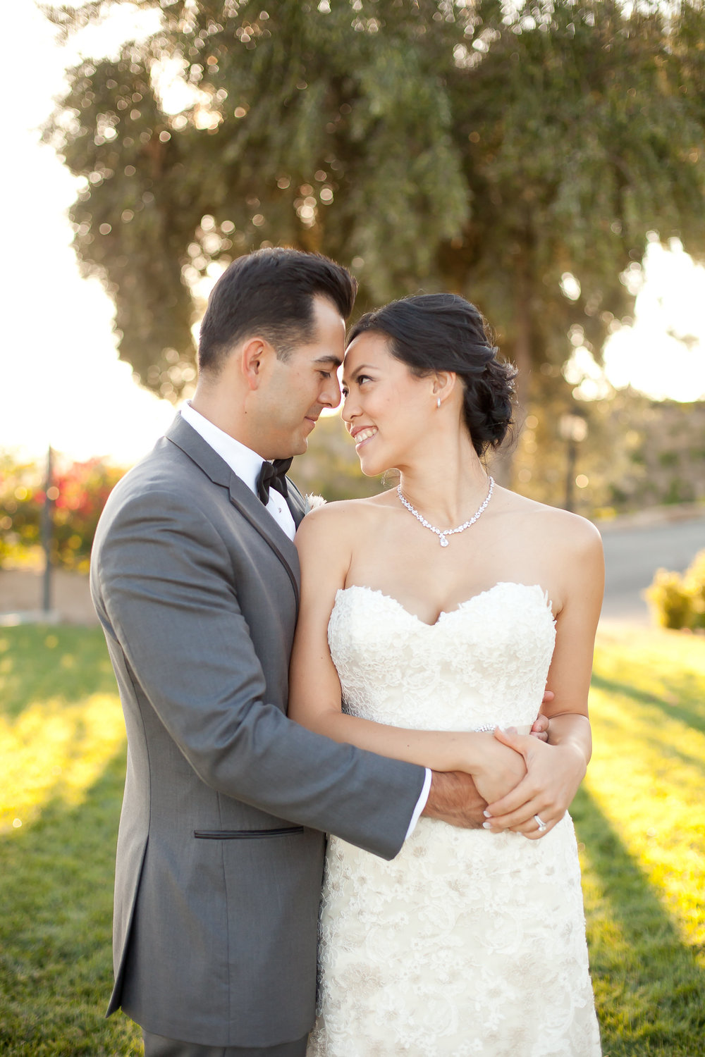 Bride and Groom at Sunset | Michelle Garibay Events