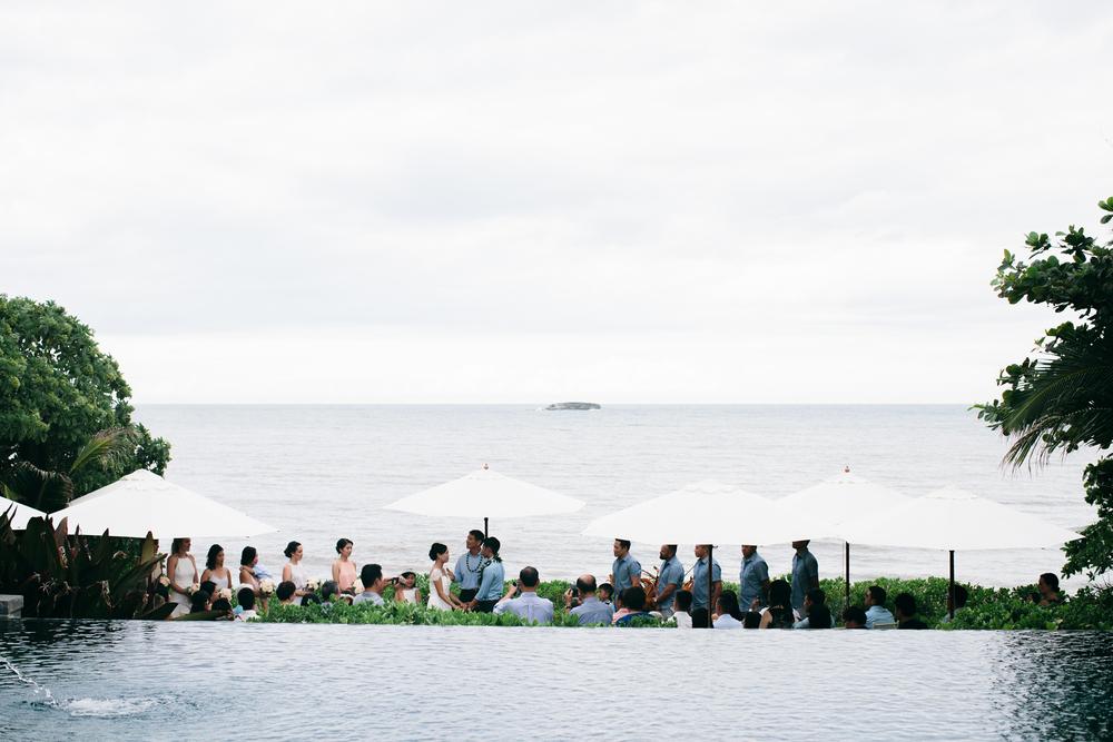 North Shore Private Estate | Boho Chic Oahu Beachfront Wedding | Michelle Garibay Events