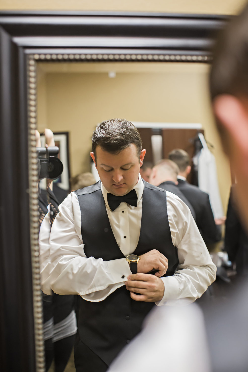 Wilson Creek Winery Groom | Temecula Private Estate Wedding | Michelle Garibay Events