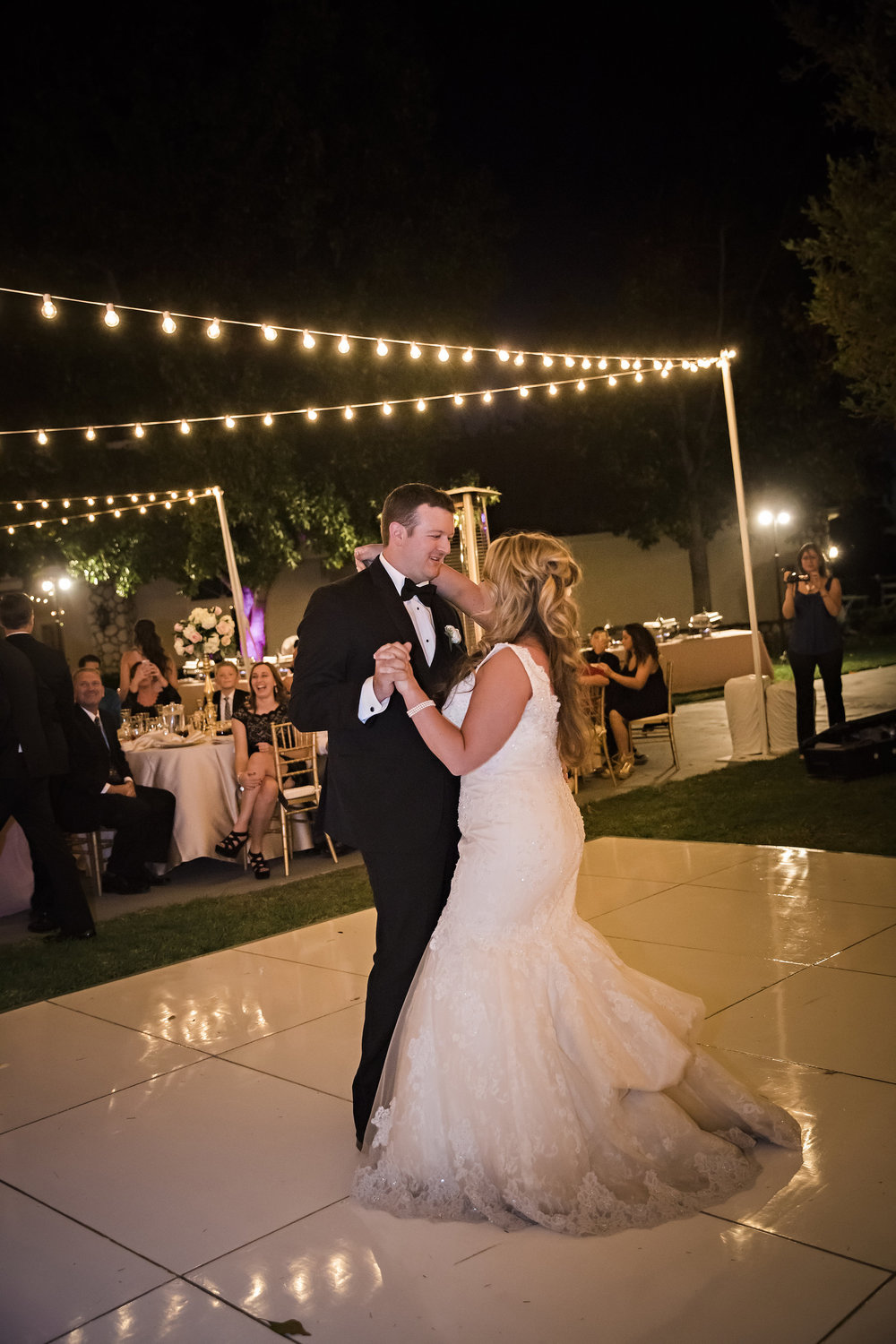 Bride and Groom First Dance | Temecula Private Estate Wedding | Michelle Garibay Events