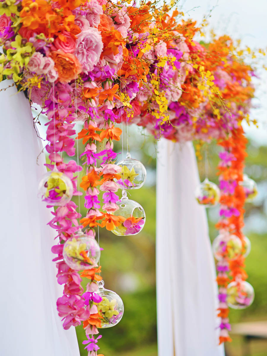 Michelle Garibay Events | Turtle Bay Resort Wedding | Hawaii Destination Wedding Planner | Tropical Chic Wedding