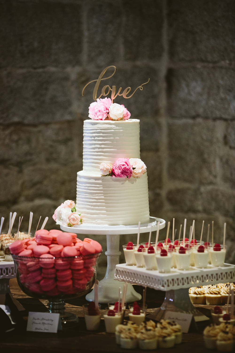 Refined Rustic Wedding in Blush and Navy | Lovers of Love Photography | Michelle Garibay Events