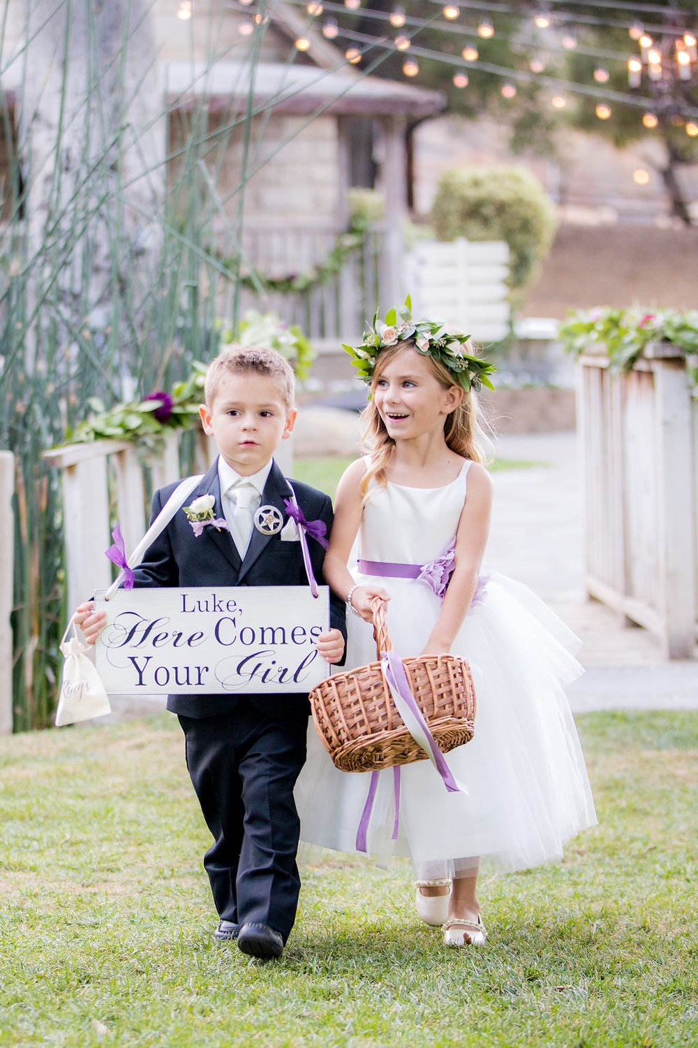 Rustic Elegance in Shades of Plum | Temecula Creek Inn | Honey Photographs by Alyss