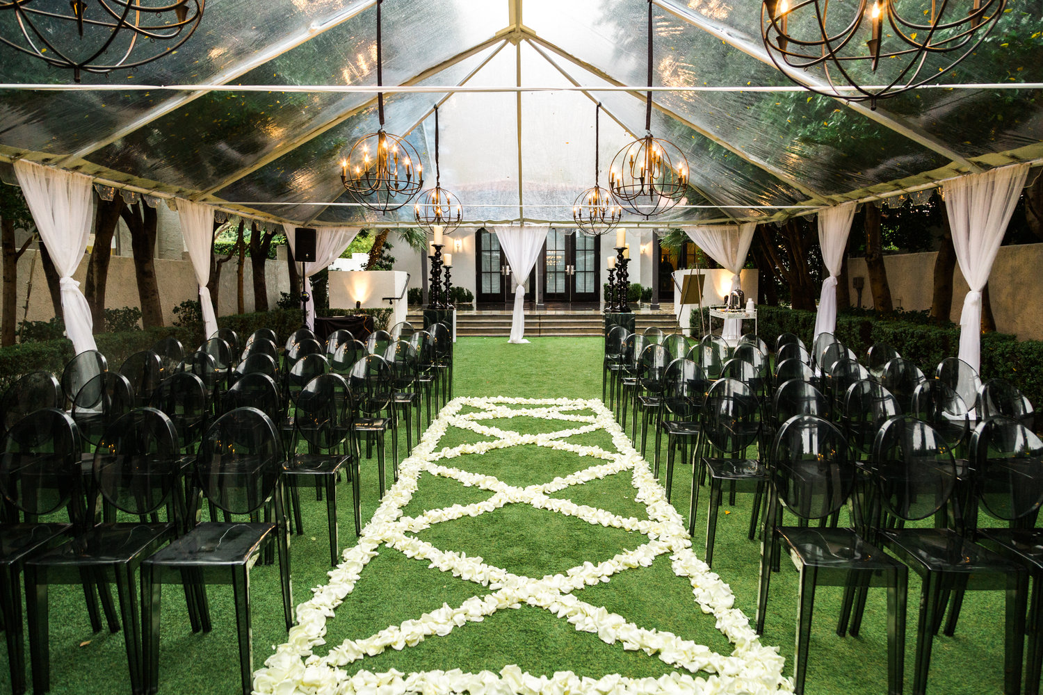 Modern Black And White Wedding At Avalon Palm Springs Whitney And
