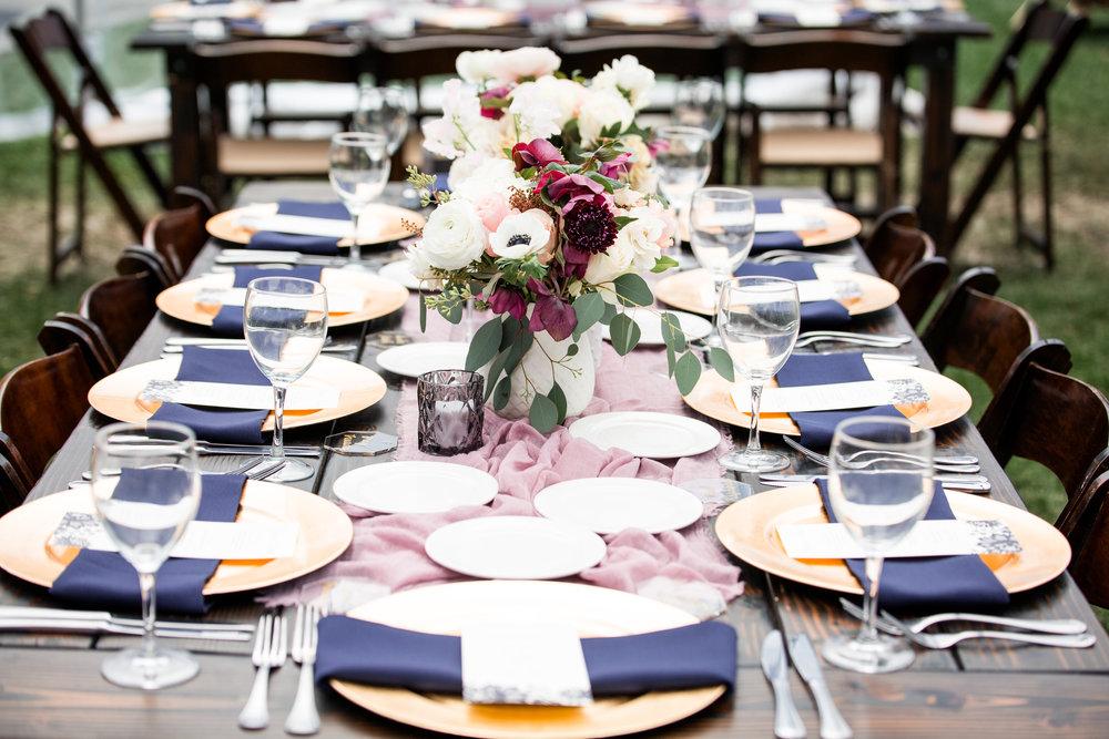 Rainy Day Jewel-Tone Wedding at Temecula Creek Inn | Katherine Beth Photography | Coordination: Cara Goset