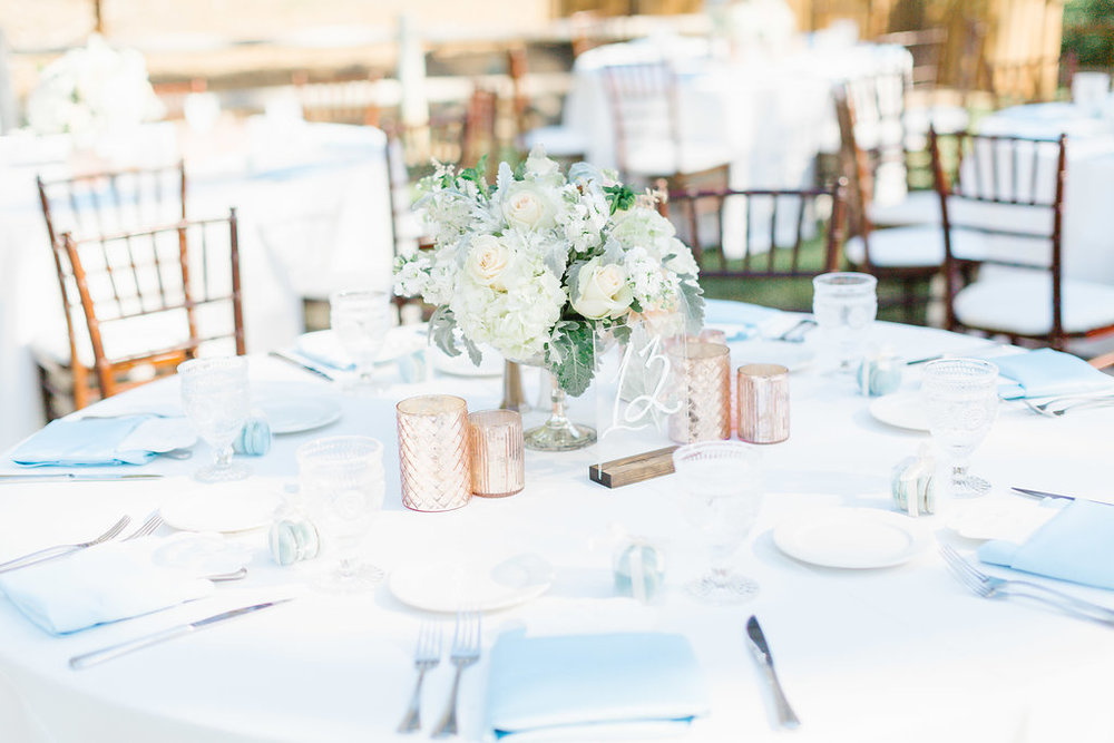 Pastel Blue and Pink Wedding at Temecula Creek Inn | Michelle Garibay Events | Natalie Schutt Photography