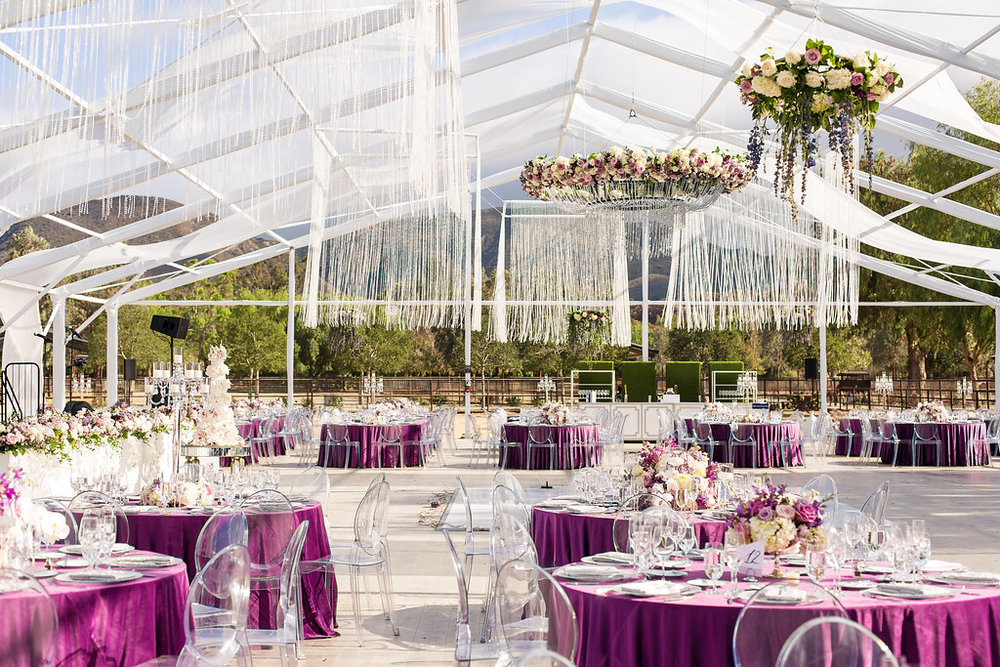 Brian Leahy Photo | Michelle Garibay Events | Luxury Temecula Wedding | La La Land Purple Wedding