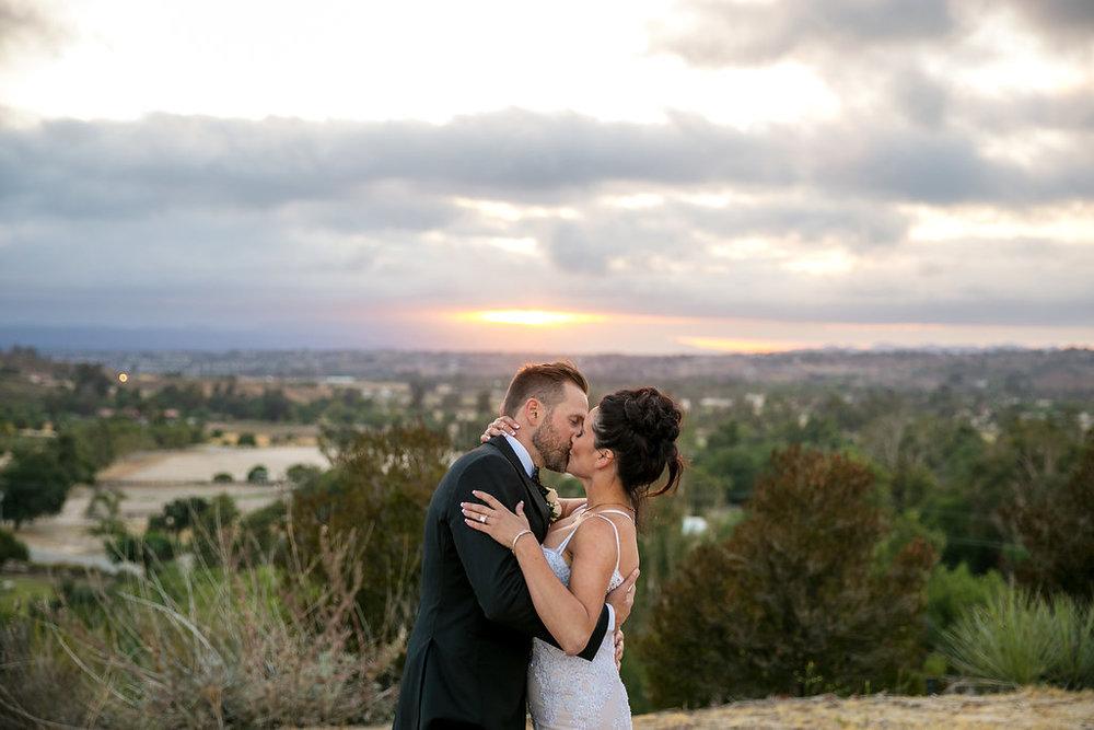 Brian Leahy Photo | Michelle Garibay Events | Luxury Temecula Wedding | La La Land Purple Wedding | Hollywood Glam Wedding | Temecula Sunset