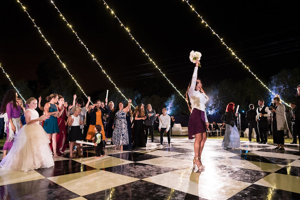 Brian Leahy Photo | Michelle Garibay Events | Luxury Temecula Wedding | La La Land Purple Wedding | Hollywood Glam Wedding | Silent Dance Party
