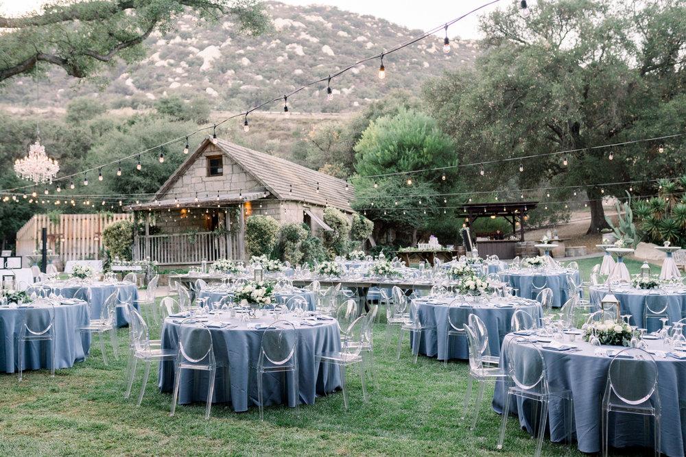 Michelle Garibay Events | Jenna Joseph Photography | Temecula Creek Inn | Slate Blue Wedding