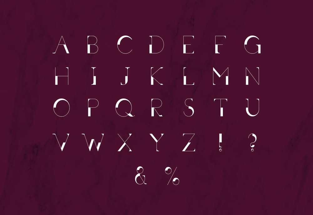 EDGE Typeface