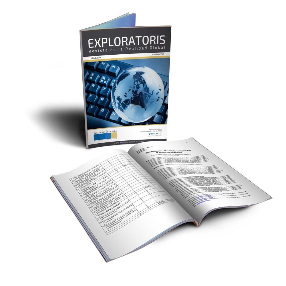 Exploratoris-Revista Academia Journals - Indizacion Ebsco