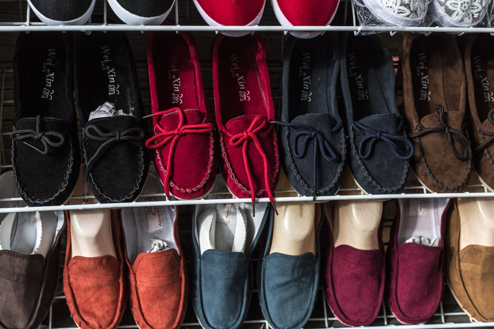 Shoes at the Market.