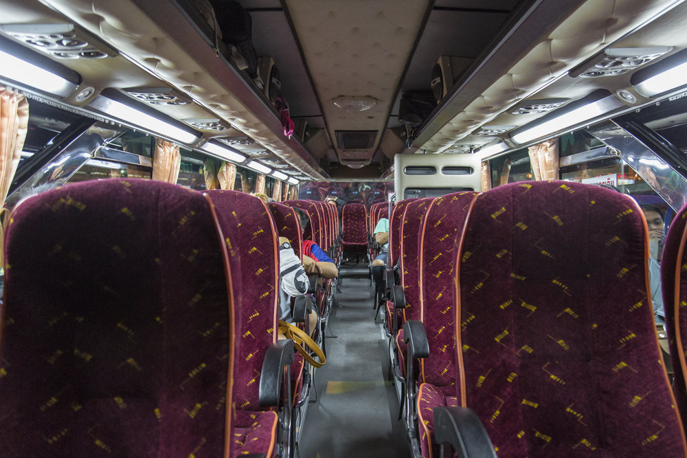 On the Night Bus to Mae Sot!
