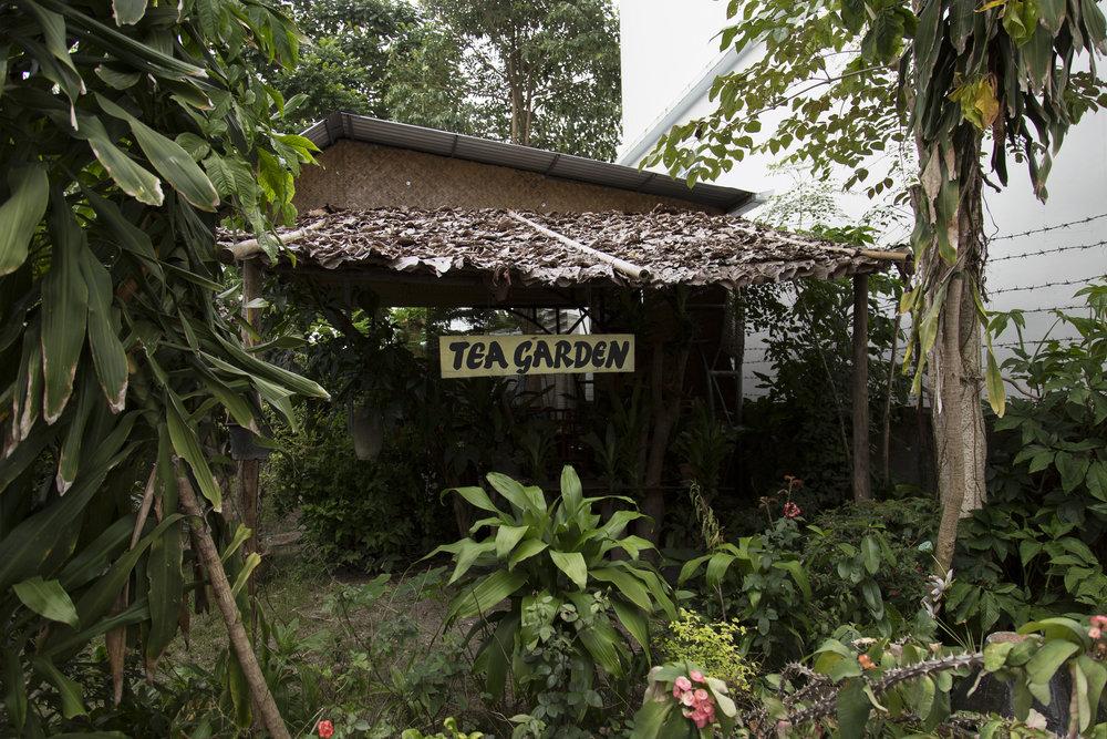 The Tea Garden where we ate.
