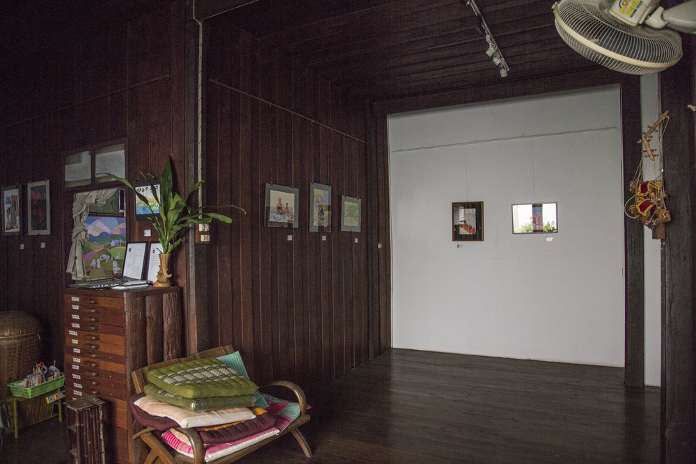 The Gallery upstairs.
