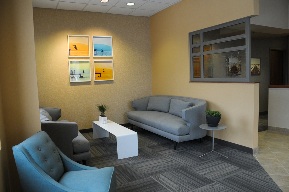 Our newly-designed Burnsville office