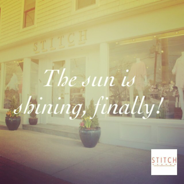 We see you there, spring. It's a beautiful day in the #Hamptons!