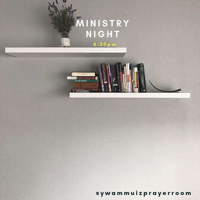 6:30 tonight we are kicking off ministry nights in the prayer room! Everyone is welcome
