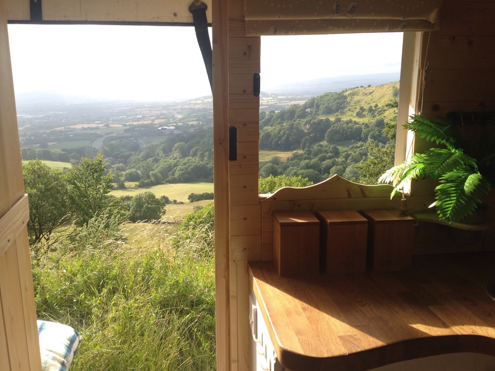 Viewpoint from Birdlip, Gloucestershire