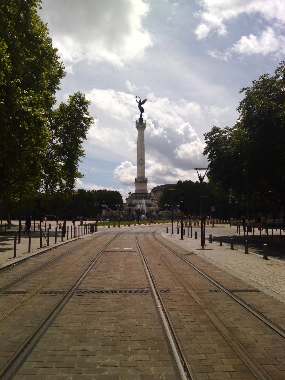 Bordeaux is great for transport and really easy to get around with the tram system.