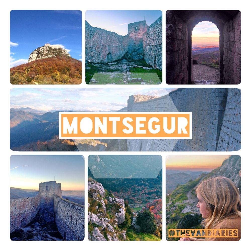 Montsegur is an incredible place, and where The Cathar's had their last stand.  A must see if you're  in the area!