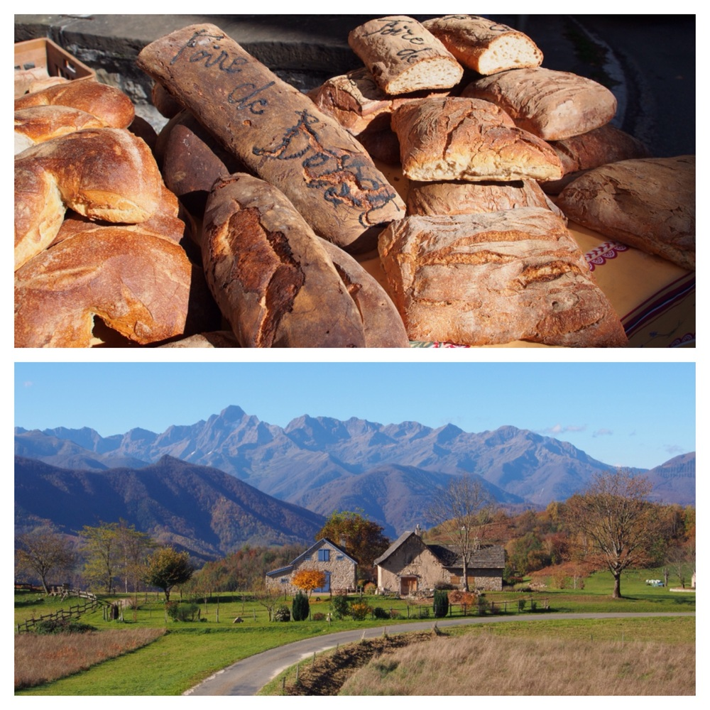 More delicious bread and incredible views on route.