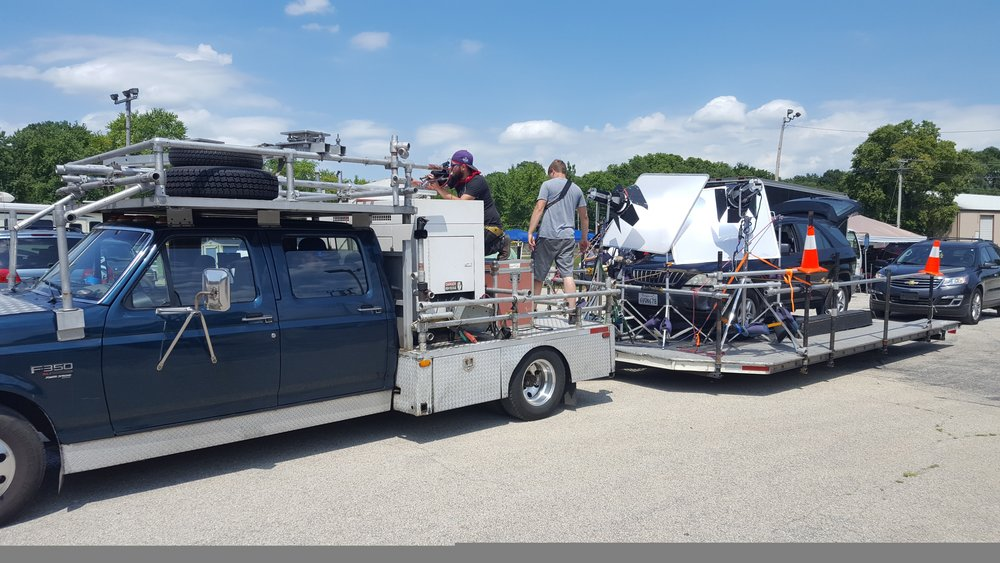 Camera Car / Process Trailer — Product Productions