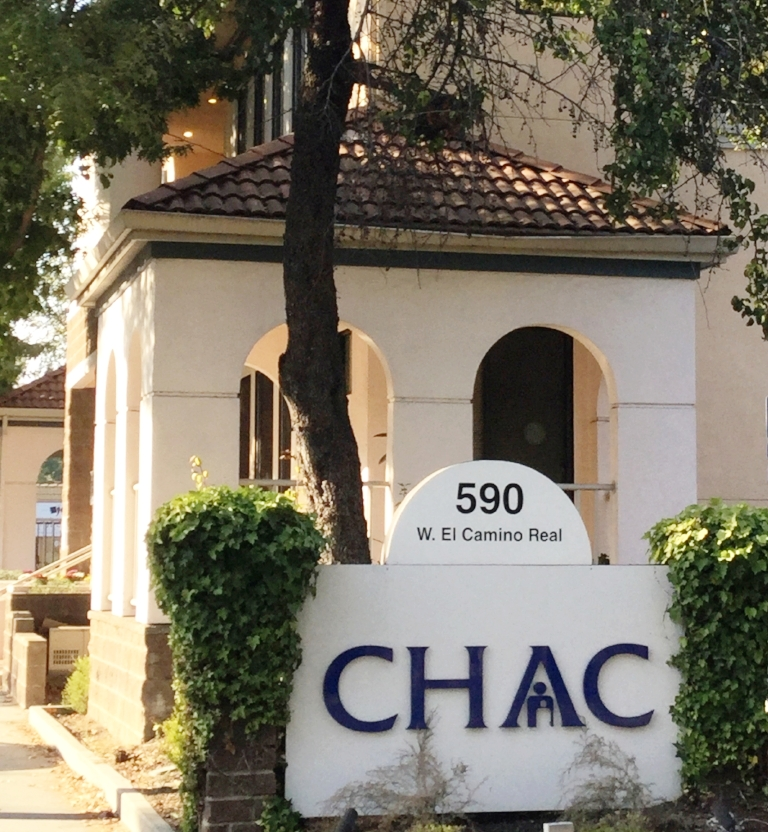 CHAC building and sign