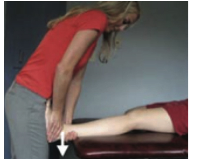 Manual Physical Therapy Ankle Mobilization