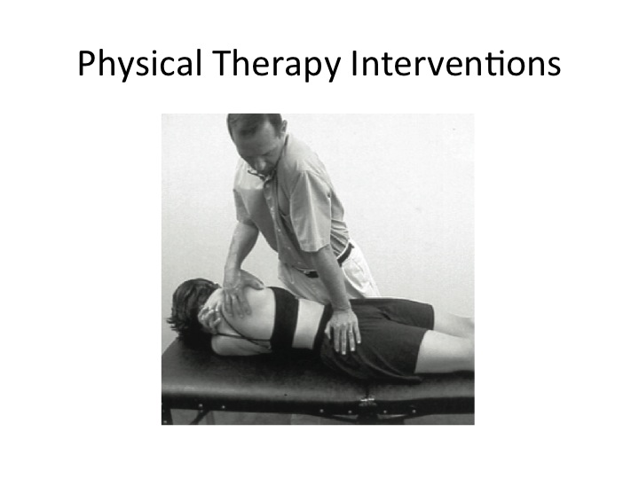 boulder physical therapy SI pain manipulation
